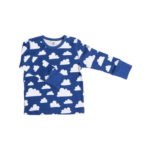 FARG FORM | T-shirt Longsleeve - Moln | Blue