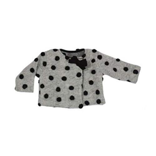 MAGIL | Polka dot coat Colore Unico