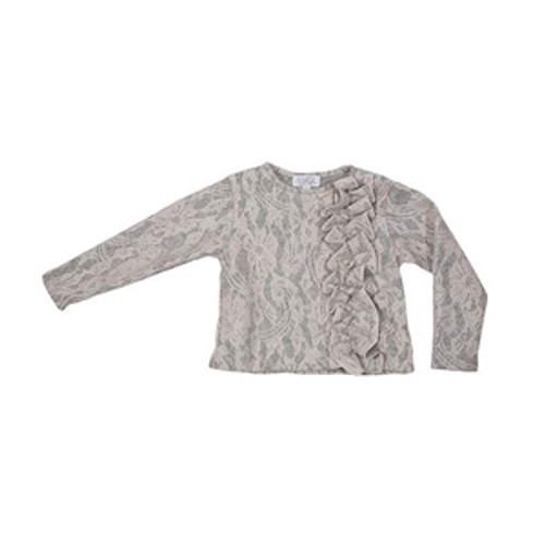 MAGIL | Cardigan with rouches ROSA