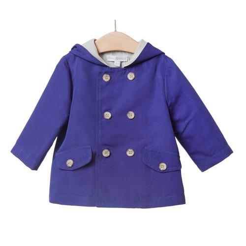 FINA EJERIQUE - SS17 | Raincoat | Blue