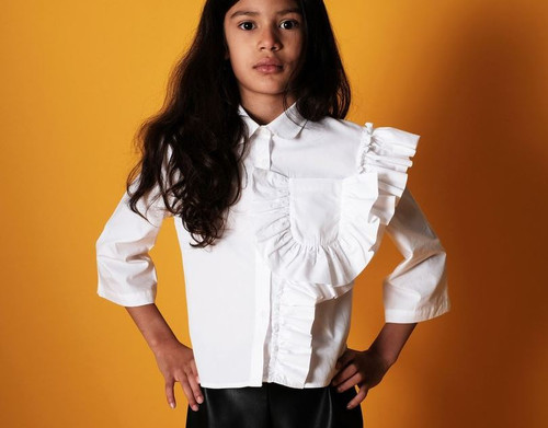 WOLF & RITA | BLOUSE CAROLINA | WHITE