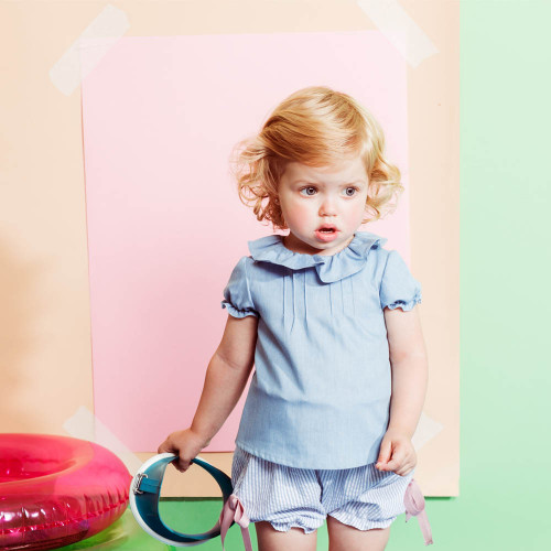 FINA EJERIQUE - SS18 | BLOOMERS | BLUE