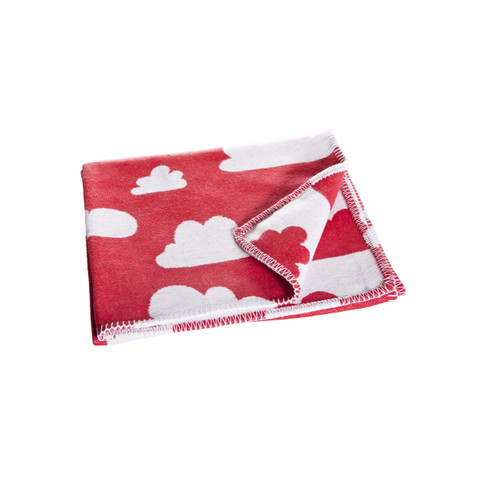 FARG FORM |  Blanket - Moln | Red