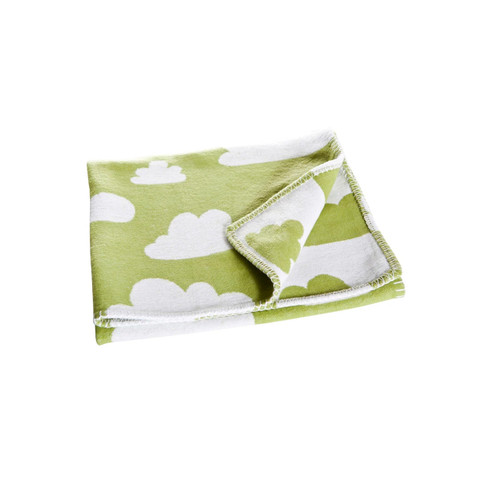 FARG FORM |  Blanket - Moln | Green