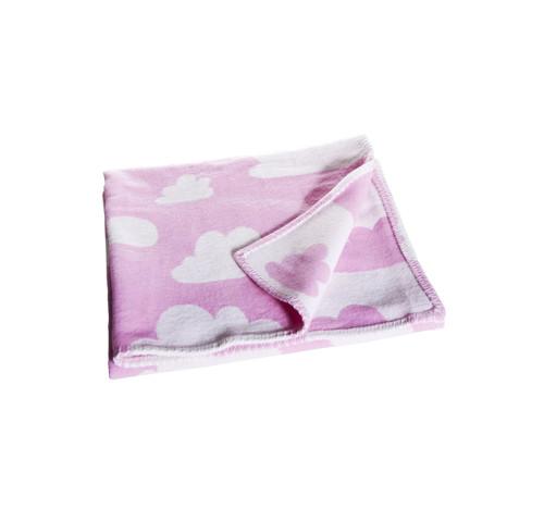 FARG FORM |  Blanket - Moln | Pink