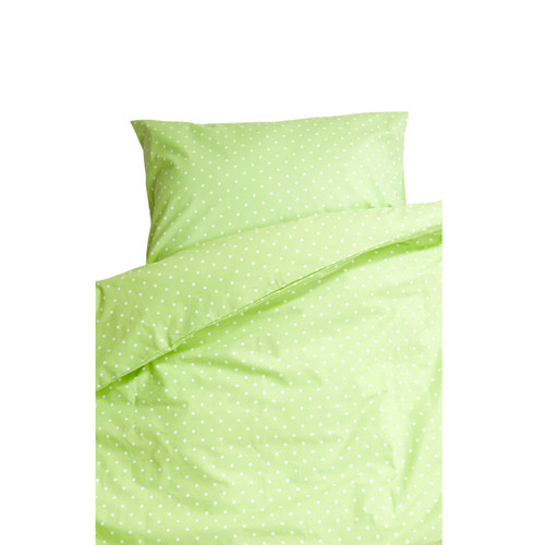 FARG FORM | Bedding Set (1 Pillow Case + 1 Duvet Cover ) - Prickig | Green