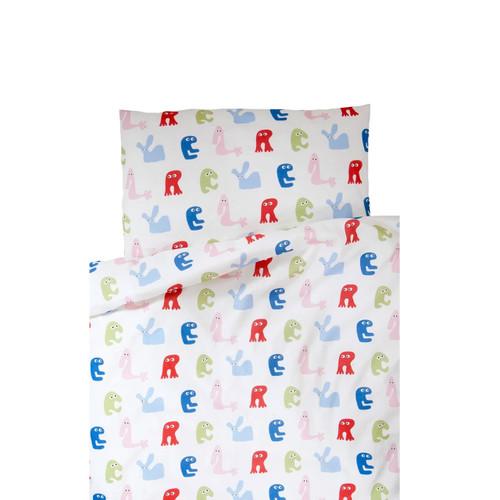 FARG FORM | Bedding Set (1 Pillow Case + 1 Duvet Cover ) - Skummis