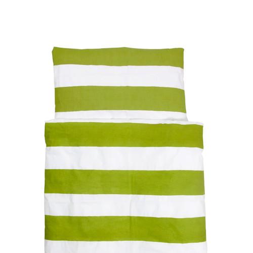 FARG FORM | Bedding Set (1 Pillow Case + 1 Duvet Cover ) - Blockrand | Green