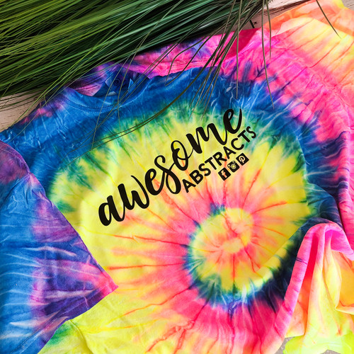 AWESOME ABSTRACTS LOGO SHIRT