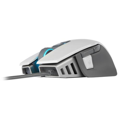 Corsair M65 RGB ELITE Tunable FPS Gaming Mouse — White