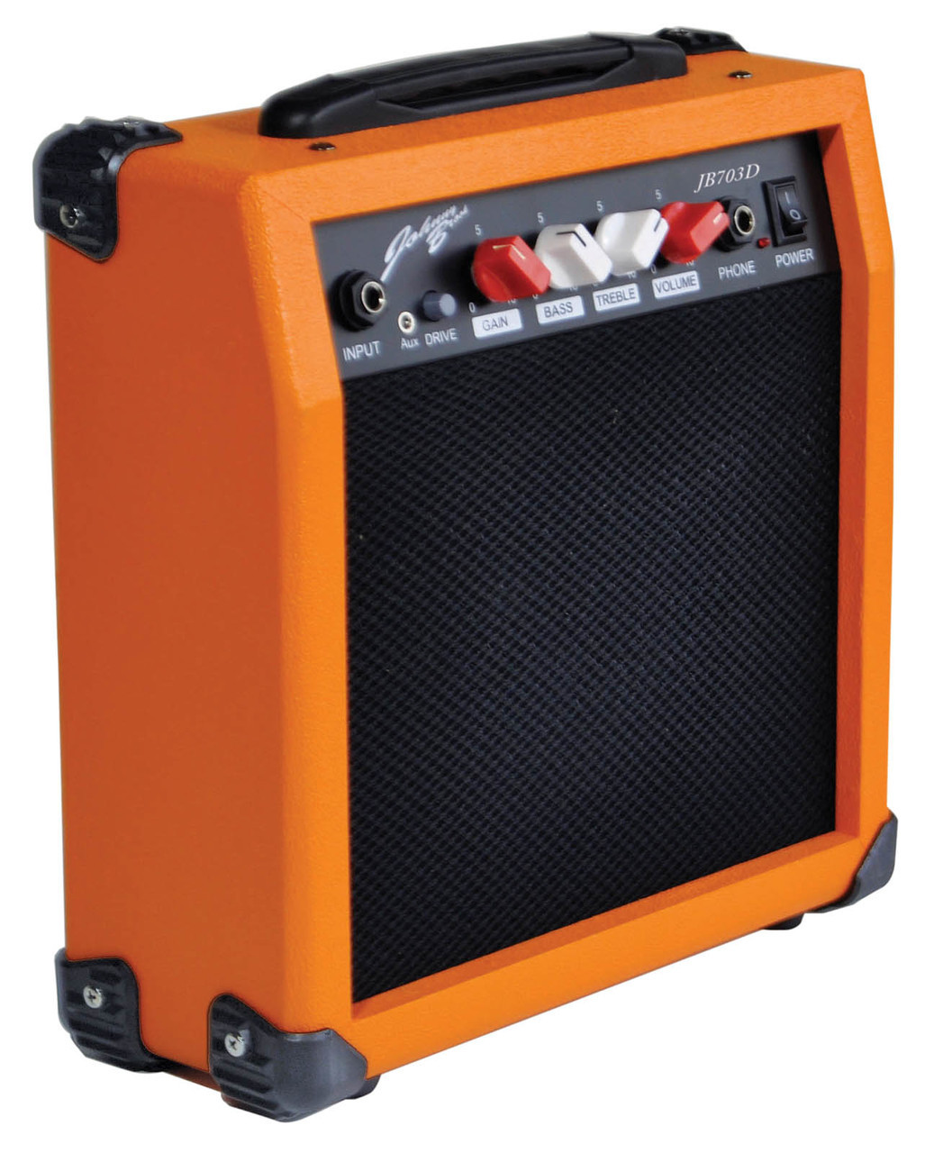 Johnny Brook Portable Personal Guitar Amplifier with Overdrive//Distortion Effect