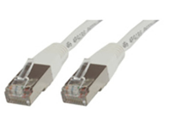 Microconnect 0.25m Cat5e RJ-45 networking cable F/UTP FTP White B-FTP50025W