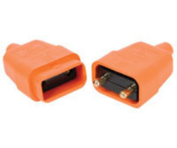 2 PIN RUBBER CONNECTOR 10A [429.304UK]