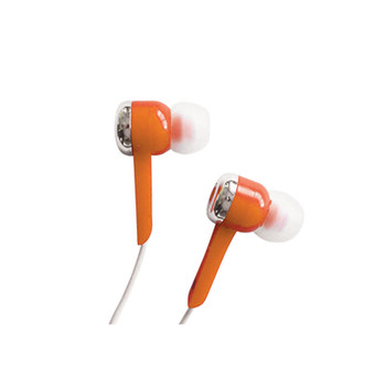 SoundLAB Orange Isolation In-Ear Stereo Earphones