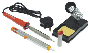 High Quality Mains Powered Soldering Iron Kit [Y061KFB]