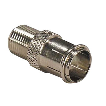 F Type Male Quick Fit to Coaxial Female Connector  F282GD