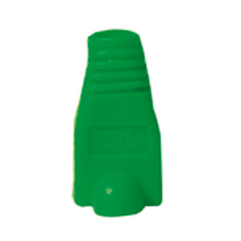 Green RJ45 Rubber Boot