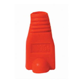 Red RJ45 Rubber Boot