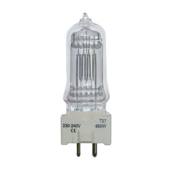 GE 650 W GY9.5 T27 High Quality Theatre Lamp