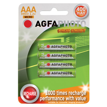 AGFAPHOTO Rechargeable Nimh Battery - Pack of 4 [ AG639 ]
