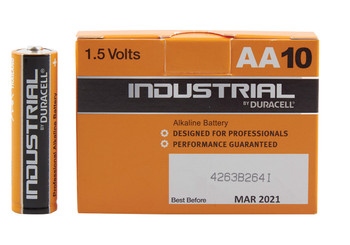 Duracell Industrial D - Box10 [656.978UK]