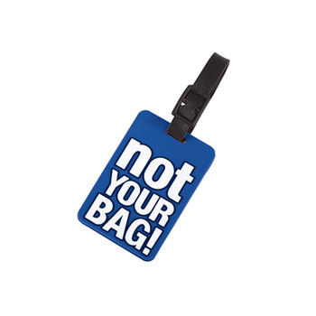 Novelty 'not your BAG!' Luggage Tags