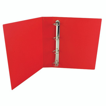 Red 40mm Pres 4D-Ring Binder Pk10