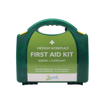 2Work Medium BSI First Aid Kit X6051