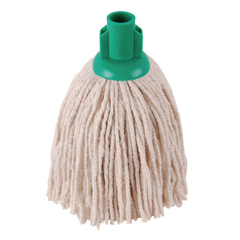 2Work 12oz PY Smooth Mop Green PK10