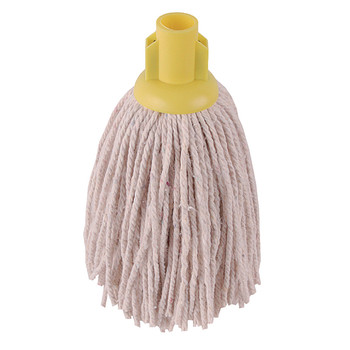 2Work 12oz PY Smooth Mop Yellow PK10