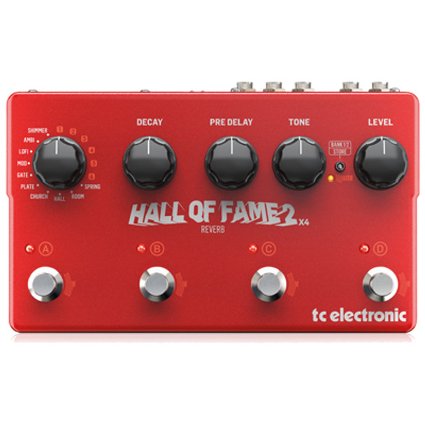 tc electronic Hall of Fame 2 x4 Reverb TC223