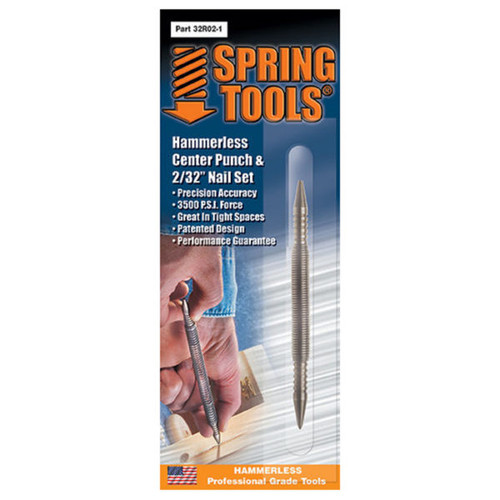 Spring Tools Hammerless Center Punch