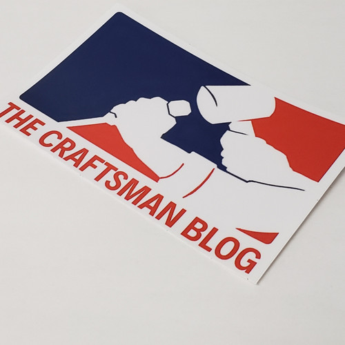 Major League Craftsman Sticker
