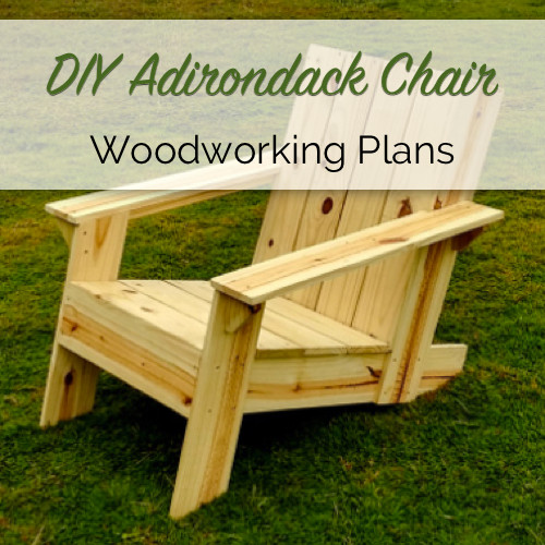 DIY Simple Adirondack Chair Plans