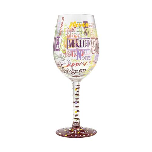 """My Type of Wine"" Wine Glass by Lolita"