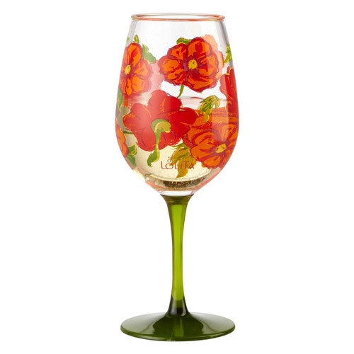 """Best of the Bunch"" Set of 2 Acrylic Wine Glass by Lolita"