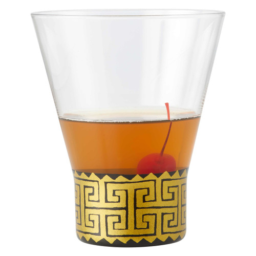 """""""Keyed Up"""" Highball Cocktail Glass by Lolita"""