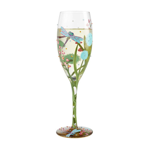 """""""Dragonfly"""" Prosecco Cocktail Glass by Lolita"""
