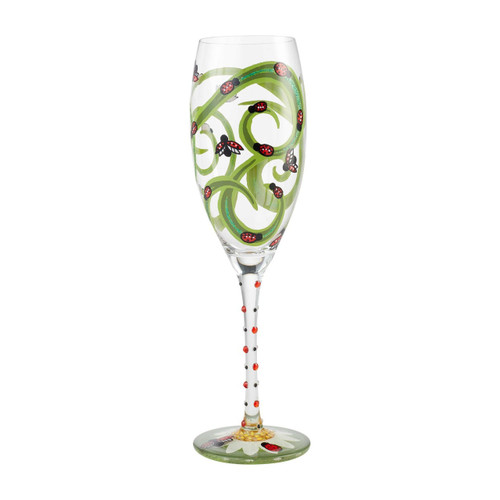 """""""Ladybug"""" Prosecco Cocktail Glass by Lolita"""