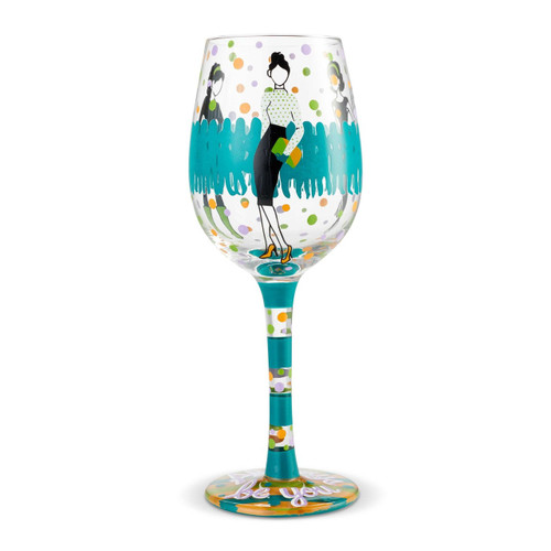 """""""Stand Out"""" Wine Glass by Lolita"""