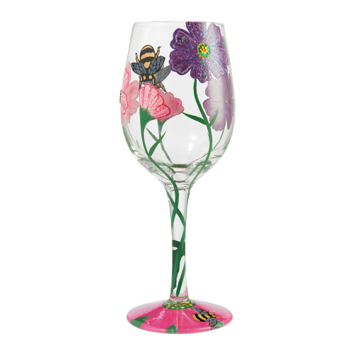 """My Drinking Garden"" Wine Glass by Lolita"