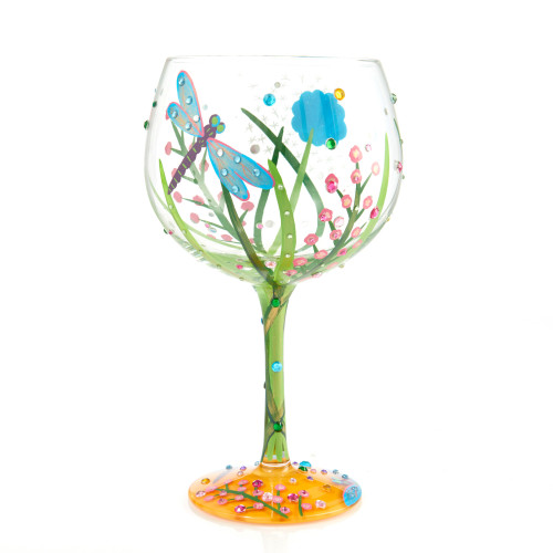 """Dragonfly"" Copa Glass by Lolita"