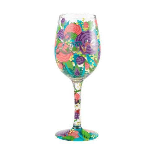 """Love"" Wine Glass by Lolita"