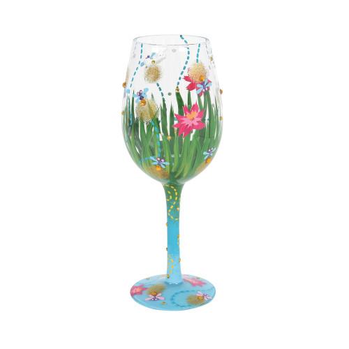 """""""Firefly"""" Wine Glass by Lolita"""