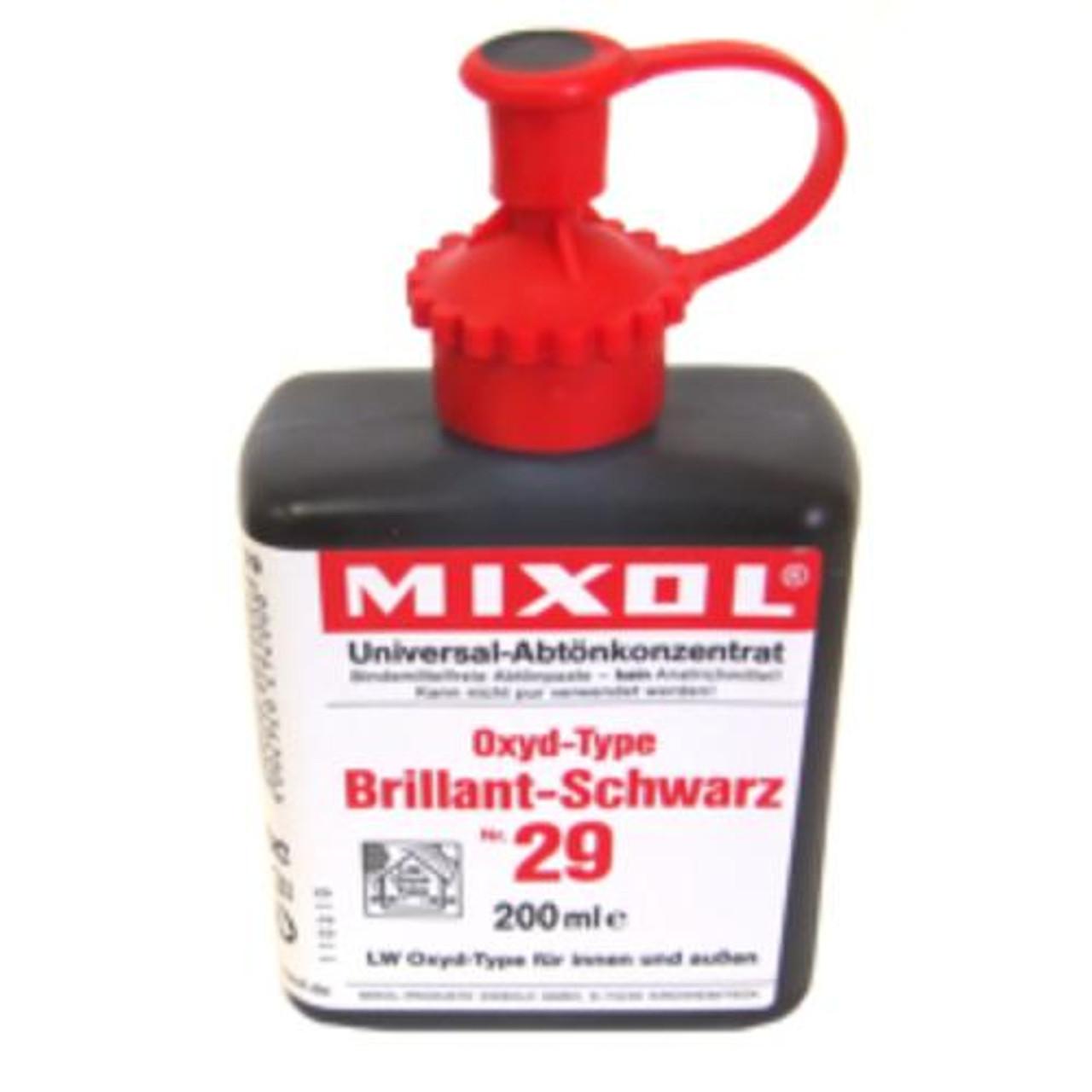 Mixol Universal Tints Oxide Brilliant Black #29