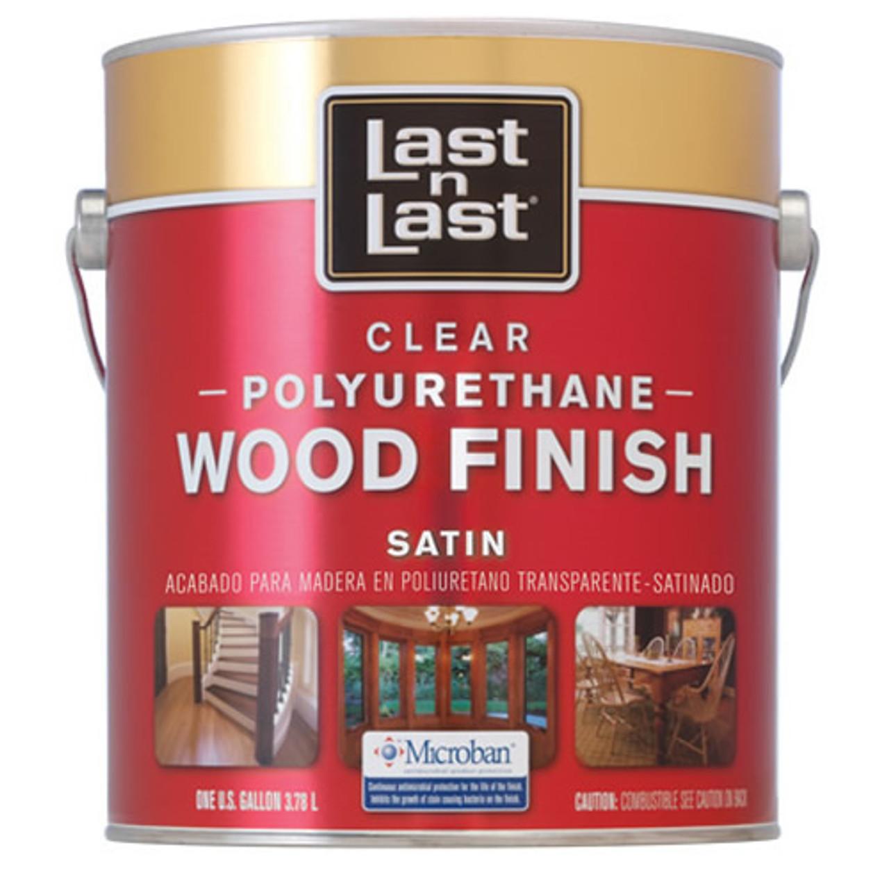 Last N Last Oil-Based Clear Polyrethane Wood Finish Satin