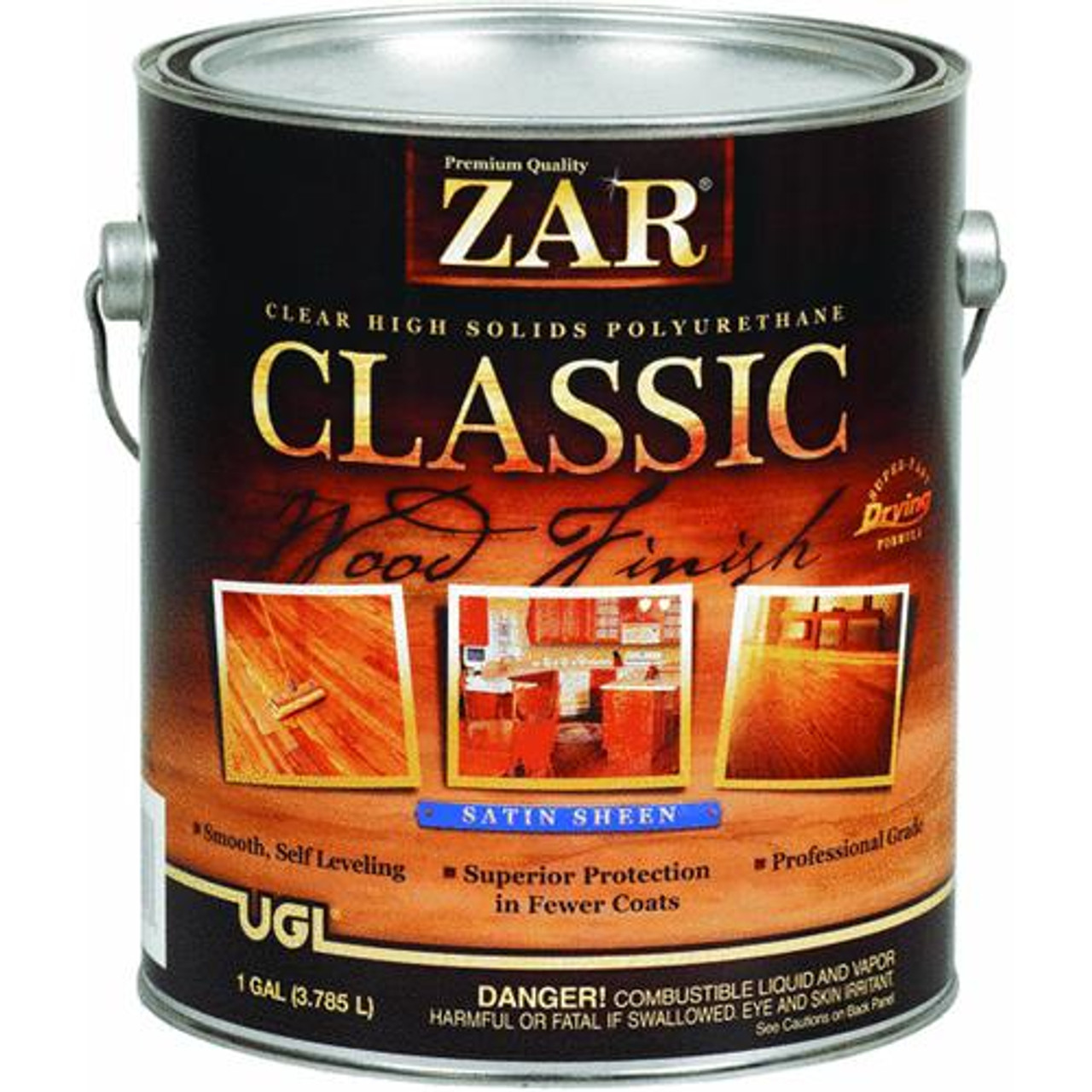 ZAR Classic High Solids Oil Based Polyurethane Varnish
