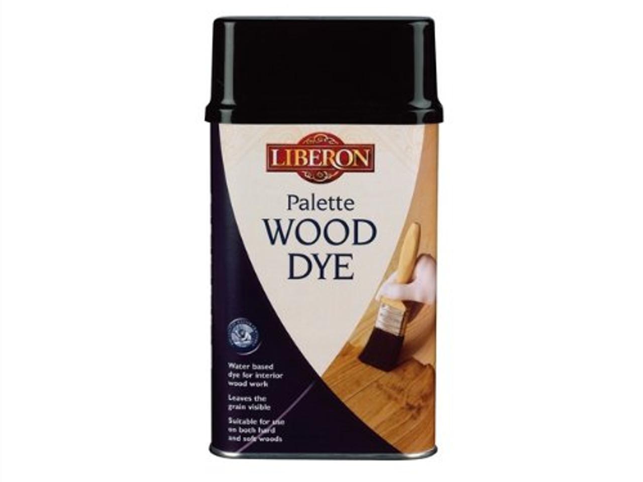 Liberon Water-Based Palette Wood Dye