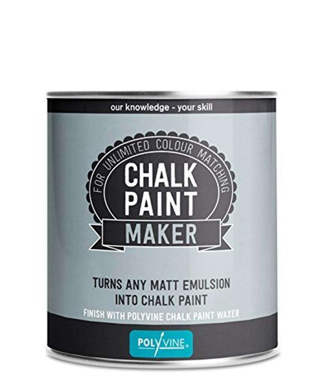 Polyvine Chalk Finish Paint Maker-Pint