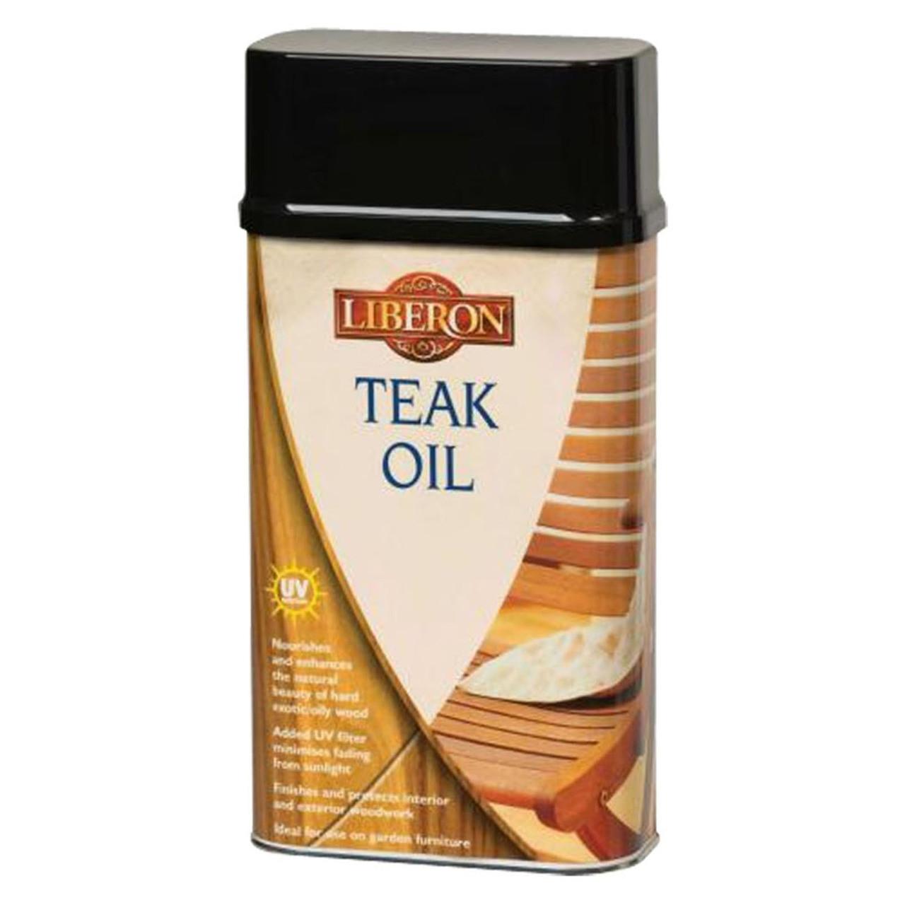 Liberon Teak Oil with UV Filter